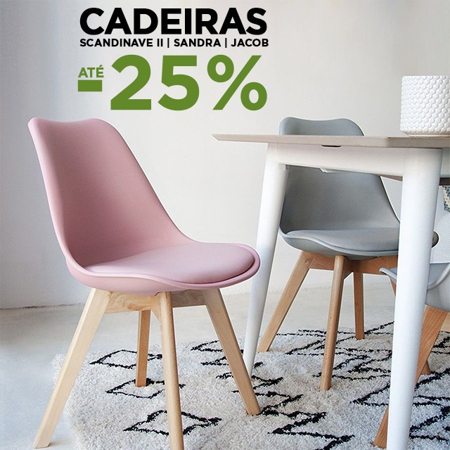 Up to -25% in Chairs