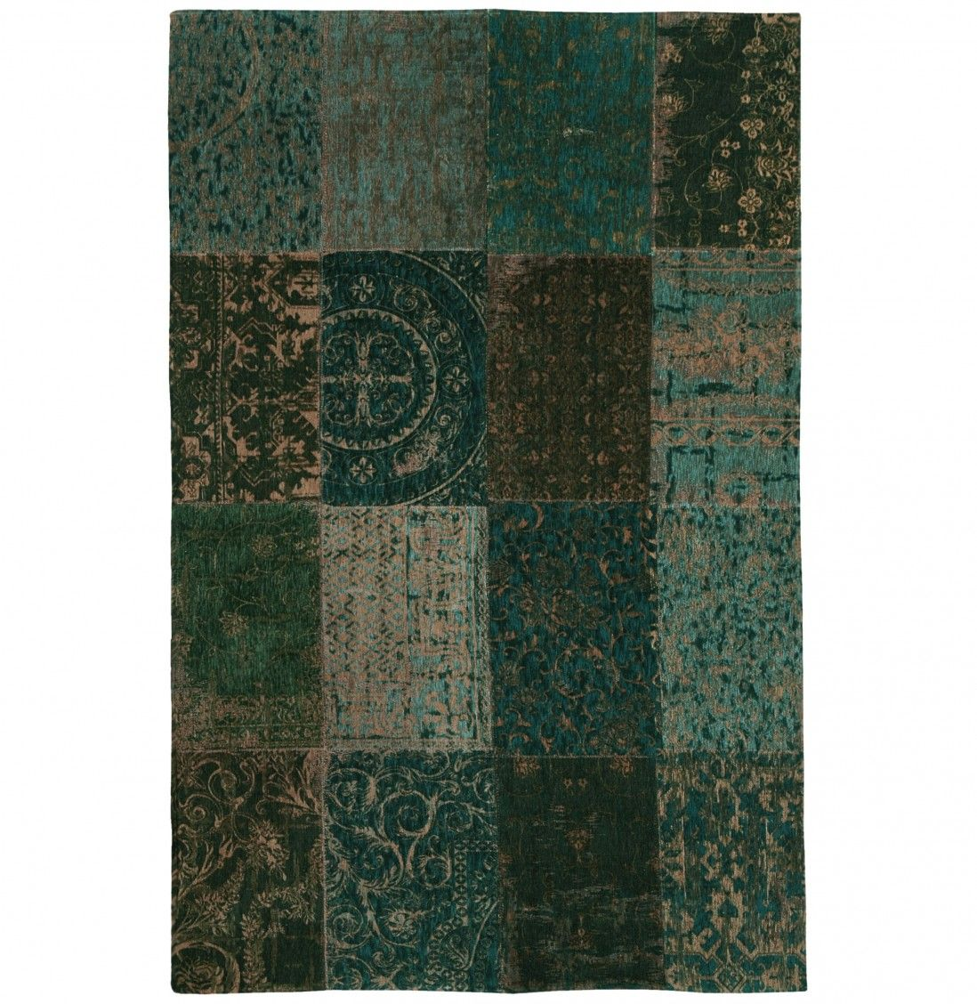TAPETE PATCHWORK CHENILLE 8022