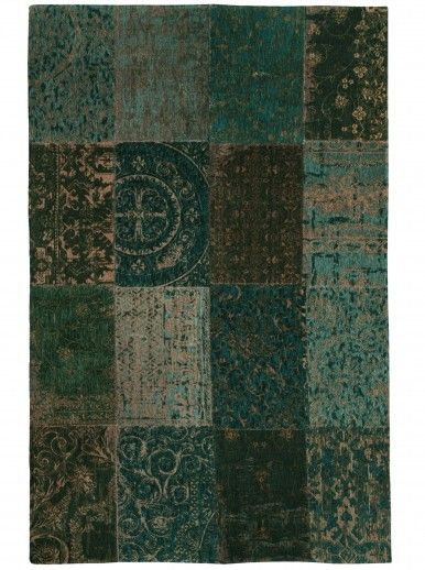 PATCHWORK CHENILLE 8022 AREA RUG