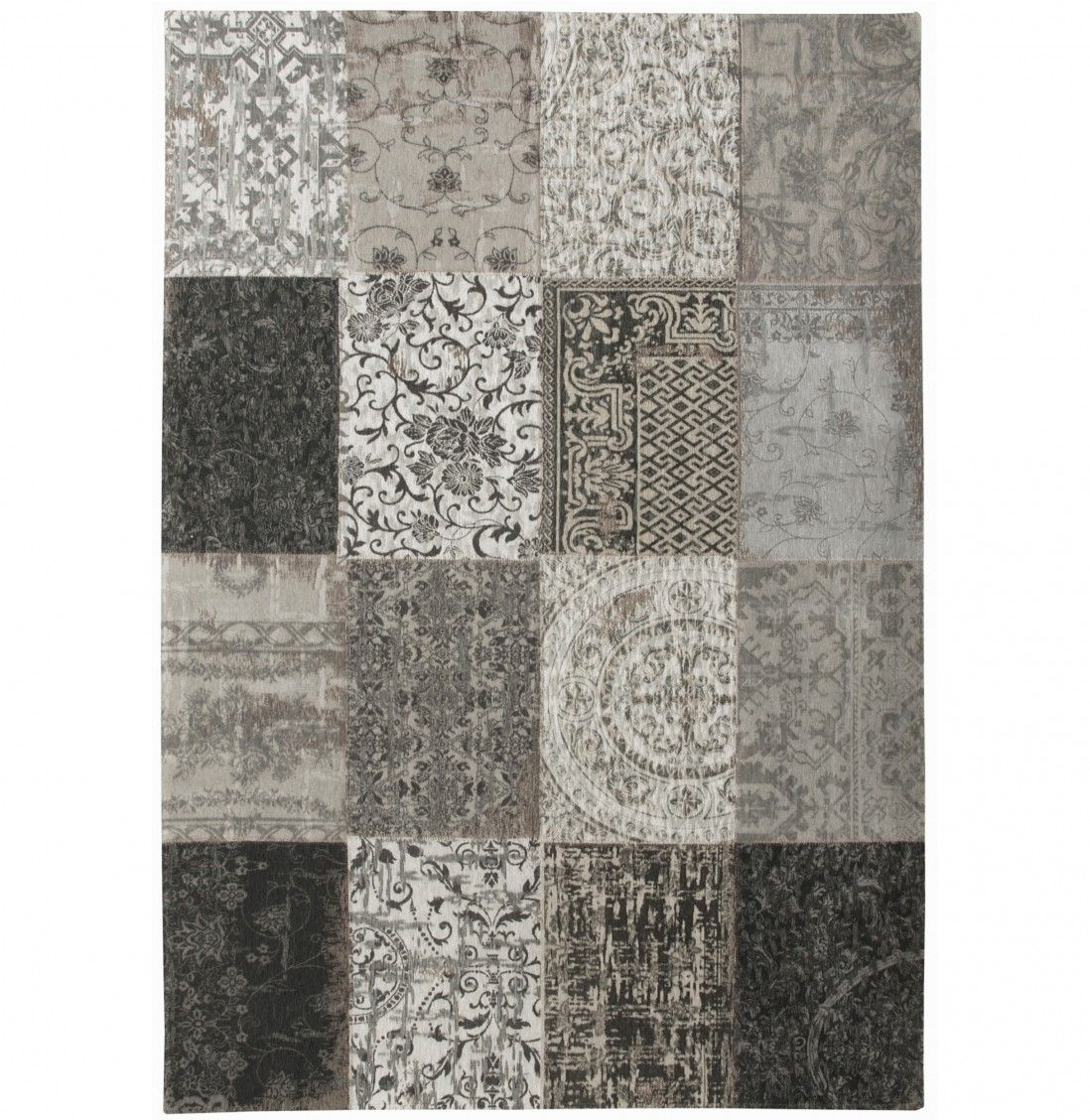 TAPETE PATCHWORK CHENILLE 8101