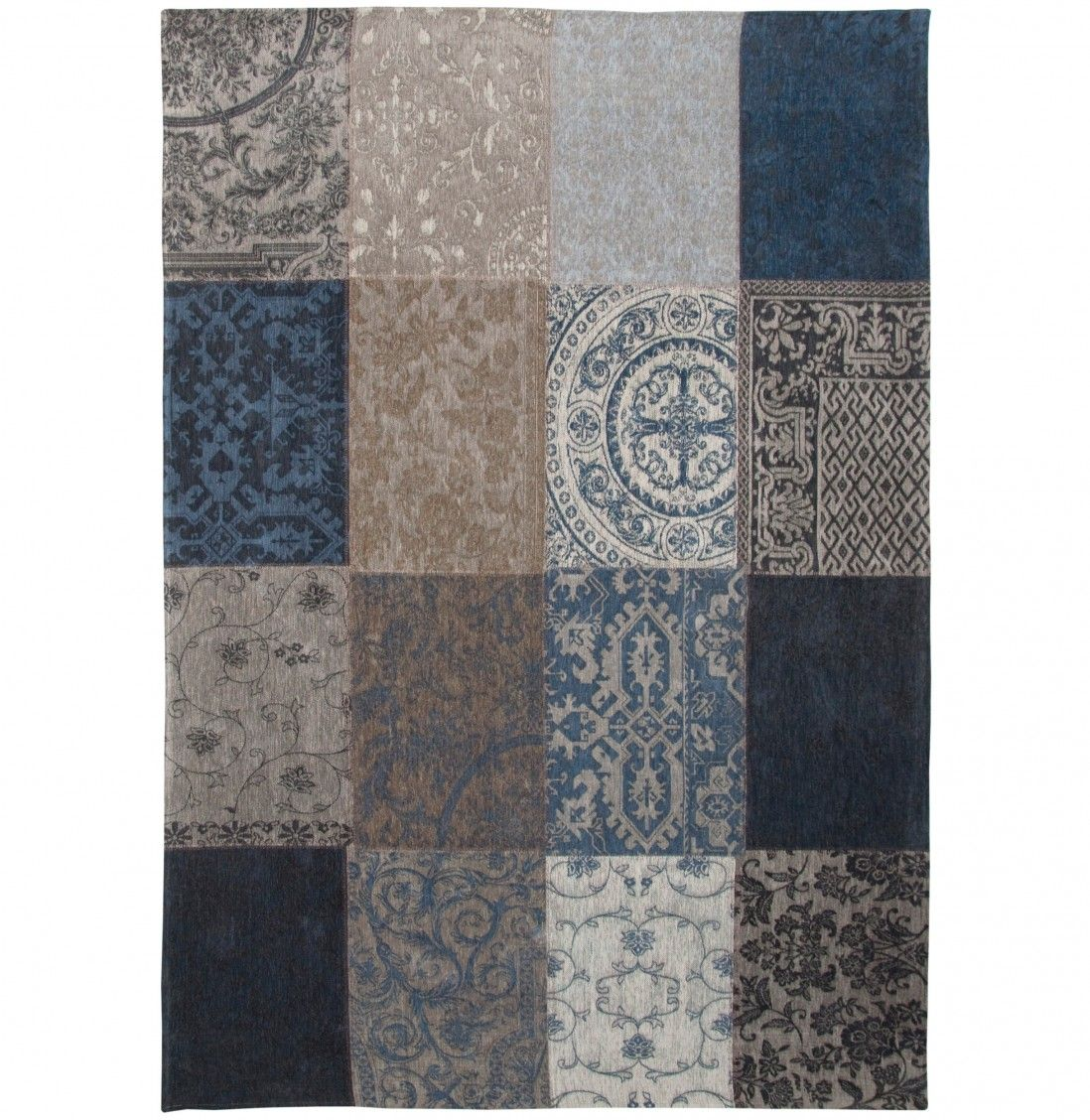 TAPETE PATCHWORK CHENILLE 8108