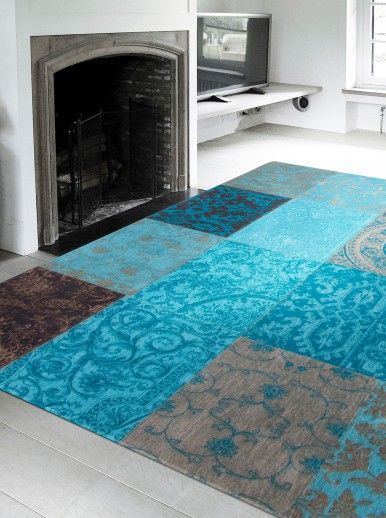 PATCHWORK CHENILLE 8105 AREA RUG