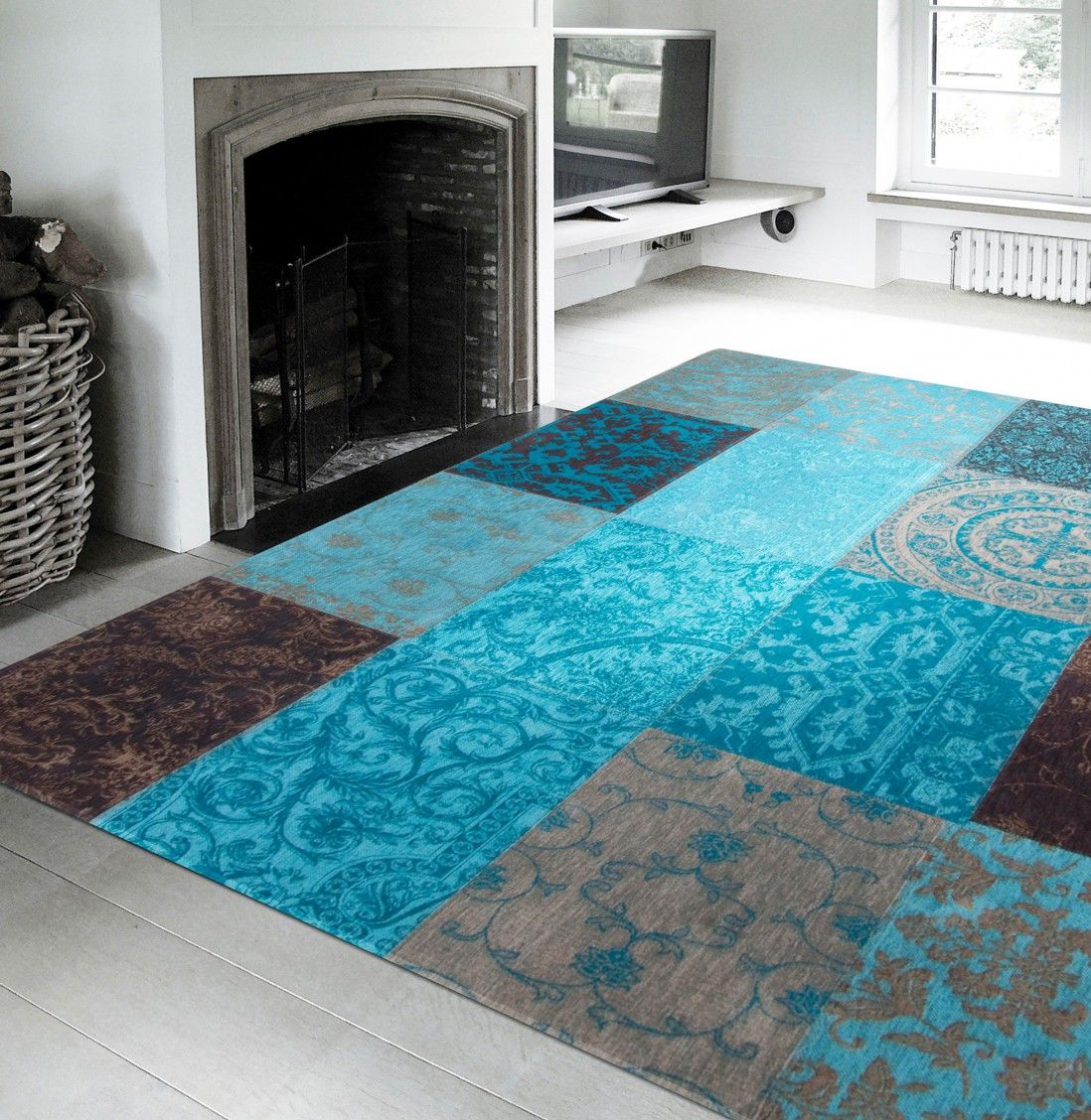TAPETE PATCHWORK CHENILLE 8105