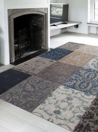 PATCHWORK CHENILLE 8108 AREA RUG