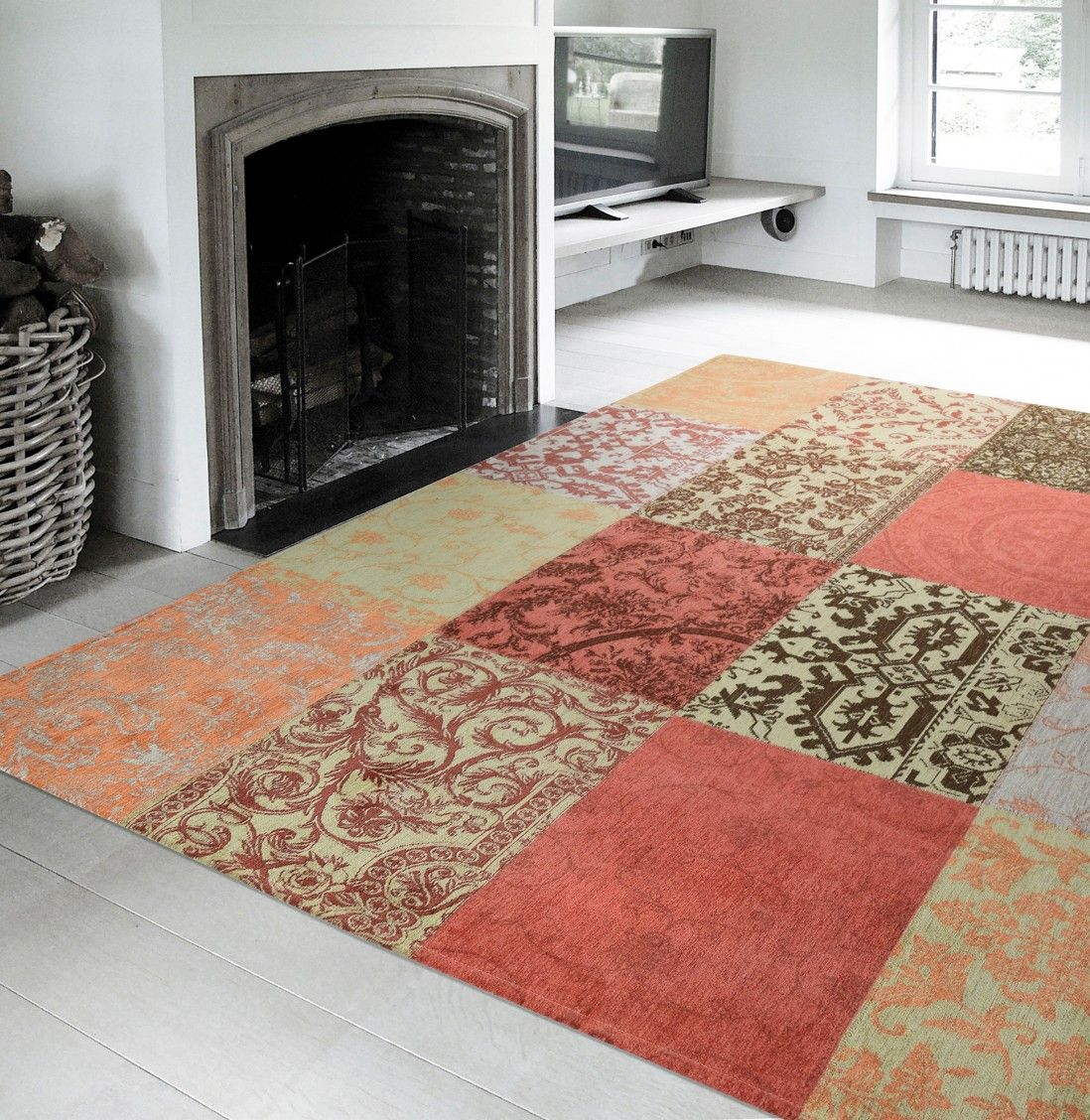 TAPETE PATCHWORK CHENILLE 8370