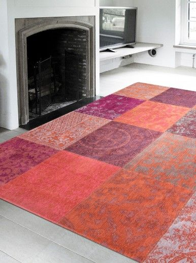 PATCHWORK CHENILLE 8371 AREA RUG