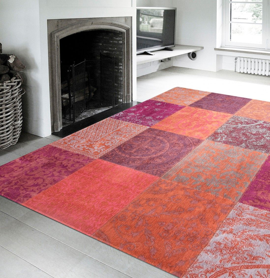 Tapete Patchwork Chenille 8371