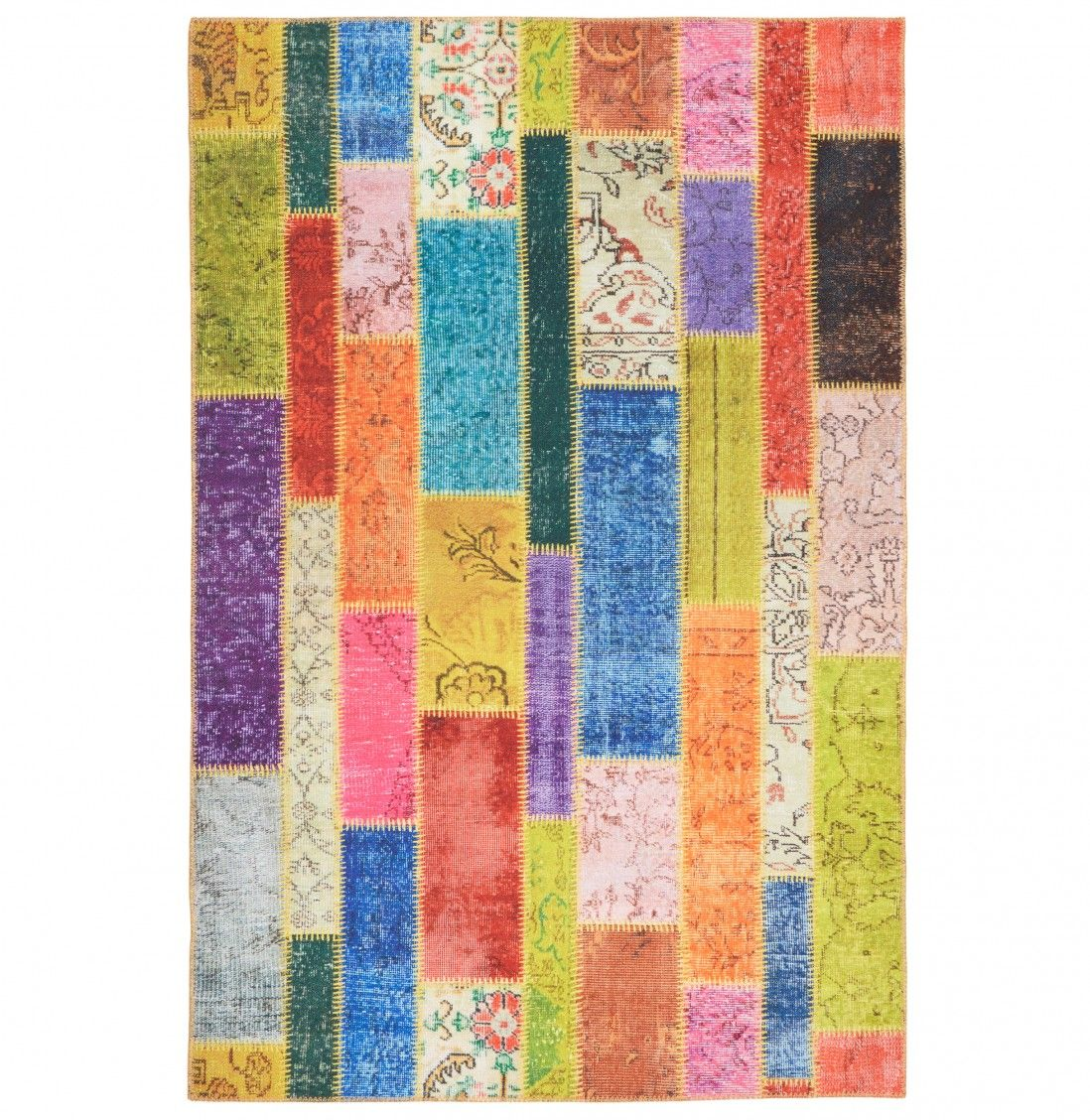 TAPETE MODERN PATCHWORK MULTI-2