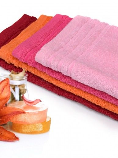 CHIC TOWEL 030x050 ROSA