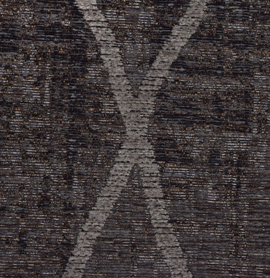 TAPETE ANTIK CHENILLE CROSS 140x200 ANTHRACITE