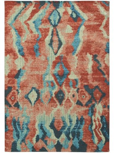 TAPETE ART CHENILLE 080x150 1476/RED BLUE