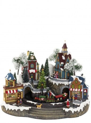 CHRISTMAS VILLAGE FIGURE