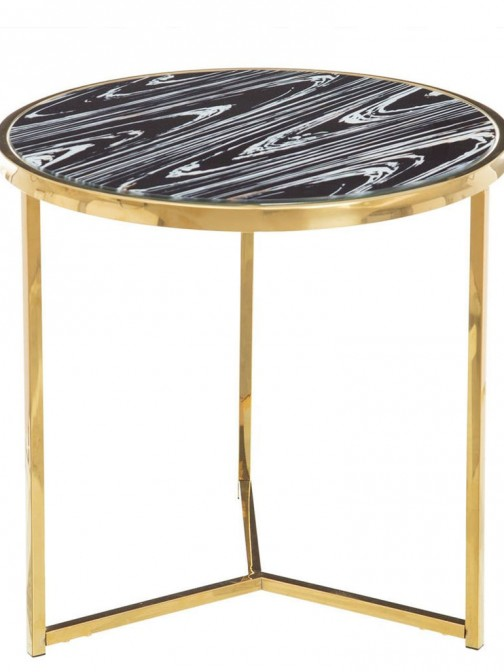 METAL/GLASS AUXILIARY TABLE 691